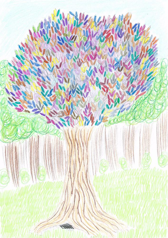 l'albero_diverso_disegno_laboratorio_dell_immaginario